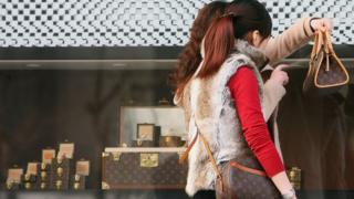 Louis Vuitton dükanı