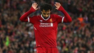 Mohammed Salah ka ọwọ soke