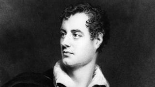 拜倫是19世紀浪漫主義文學的領袖級人物。