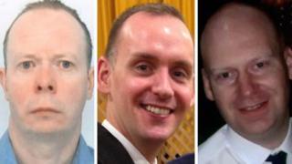 David Wails, Joe Ritchie-Bennett and James Furlong