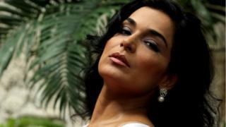 A atriz Meera