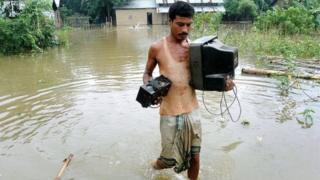 ब्रह्मपुत्र से बाढ़