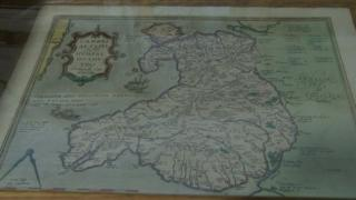 The first published map of Wales