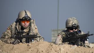 German troops in northern Afghanistan, 2013 file pic