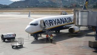 environment Ryanair plane