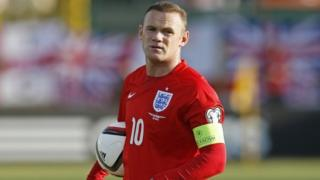 Wayne Rooney at the Euro 2016 qualifiers