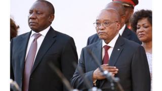 Le vice-président sud-africain est l'un des principaux candidats à la succession de Jacob Zuma à la tête de l'ANC