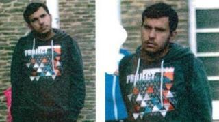 Las autoridades alemanas publicaron estas imágenes de Jaber al Bakr.