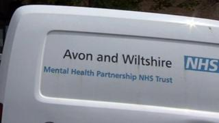 Avon and Wiltshire Mental Health Partnership van