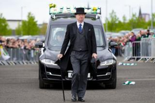 Coffin arrives at Parkhead