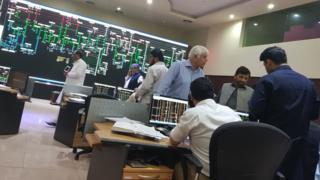 اسلام آباد میں کنٹرول روم کا ایک منظر
