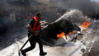 Результати обстрілів у Газі