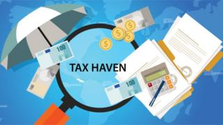 Tax haven illustration