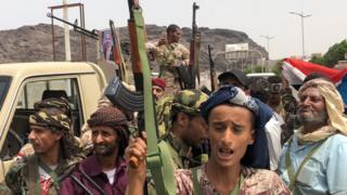Les séparatistes du sud veulent se séparer du nord du Yémen en s'emparant samedi du palais présidentiel et de la caserne militaire d'Aden