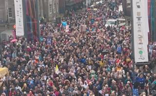 Thousands walk in procession in Liverpool
