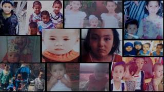 Composite of missing children