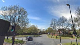 Junction of Windsor Way junction and Brunton Lane