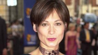 Leah Bracknell pictured in 2001
