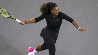 Mchezaji wa Tenisi mkongwe wa Marekani Serena Williams