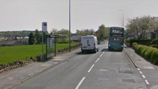 Upholland Road in Wigan