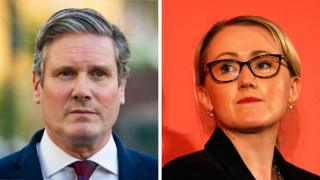 Keir Starmer and Rebecca Long Bailey