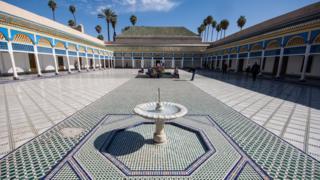 Дворец Бахия в Марракеше
