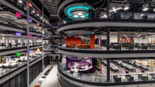 Inside new BBC Wales HQ