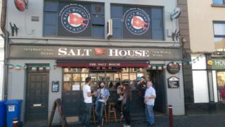 Liam McEvoy was working a shift in the Salt House Bar in Galway when something out of the ordinary happened