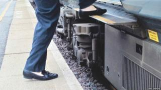 Marsden Station has a dangerous 18-inch step between platform two and train carriages