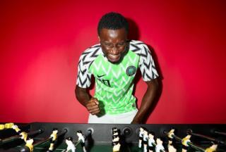 Mikel John Obi of Nigeria