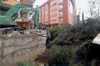 Nairobi demolition