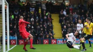 Tottenham na Watford