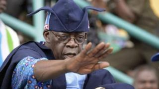 Bola Tinubu na cikin jiga jigan jam'iyyar APC mai mulki a Nigeria