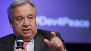 """Antonio Guterres: """" Les démons du racisme refont surface un peu partout"""""""