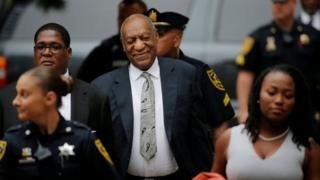Actor and comedian Bill Cosby arrives for the sixth day of deliberations in his sexual assault trial at the Montgomery County Courthouse in Norristown, Pennsylvania, US on 17 June 2017