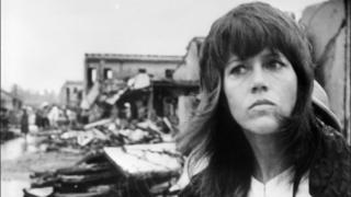 Jane Fonda in Hanoi in 1972