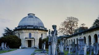 View of Brompton Cemetery