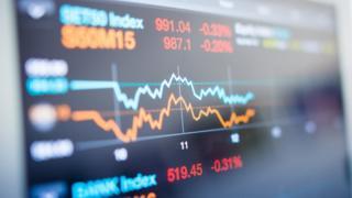 Financial markets graph