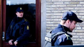 Danish police in Copenhagen, 2016 file pic