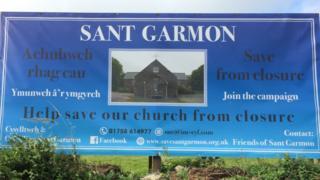 Poster on future of Sant Garmon