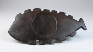 Os zoólitos indígenas, feitos em pedras ou osso, reproduziam animais, como este em forma de peixe