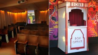 The Roxy community cinema in Axbridge, Somerset
