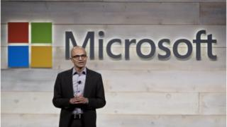 Microsoft chief executive Satya Narayana Nadella