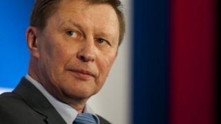 M. Ivanov a été le chef de cabinet du Kremlin pendant cinq ans