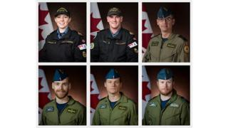 Victims of Nato helicopter crash