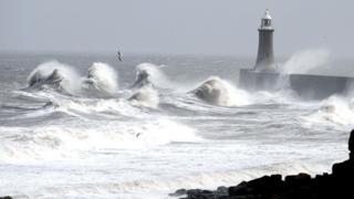 Coast at Tynemouth