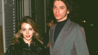 Kylie Minogue and Michael Hutchence