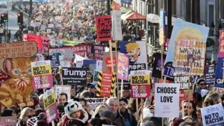 Marcha das Mulheres em Londres