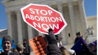 Kürtaj karşıtı eylem