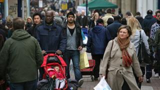 People shopping in Kingston